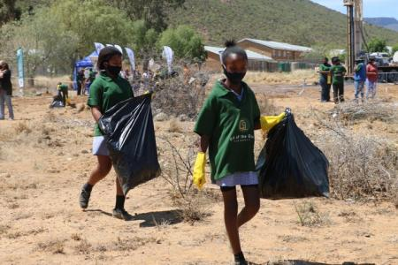 Minister Barbara Creecy said the Clean-up will tackle the illegal dumping area identified.