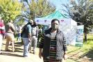 Deputy Minister Sotyu at Golden Gate Highlands in the Free State